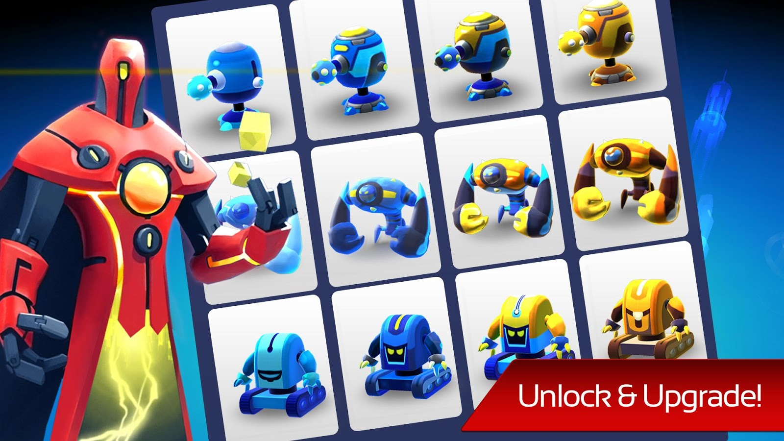 Tải Game The Bot Squad: Puzzle Battles Cho Android