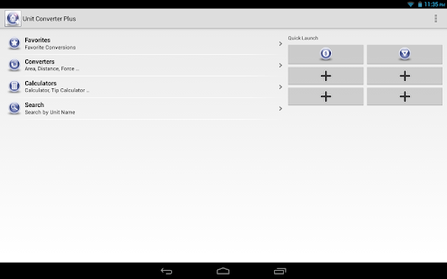 Unit Converter Plus Screenshot