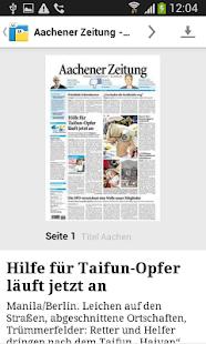 AZ/AN E-Paper - náhled