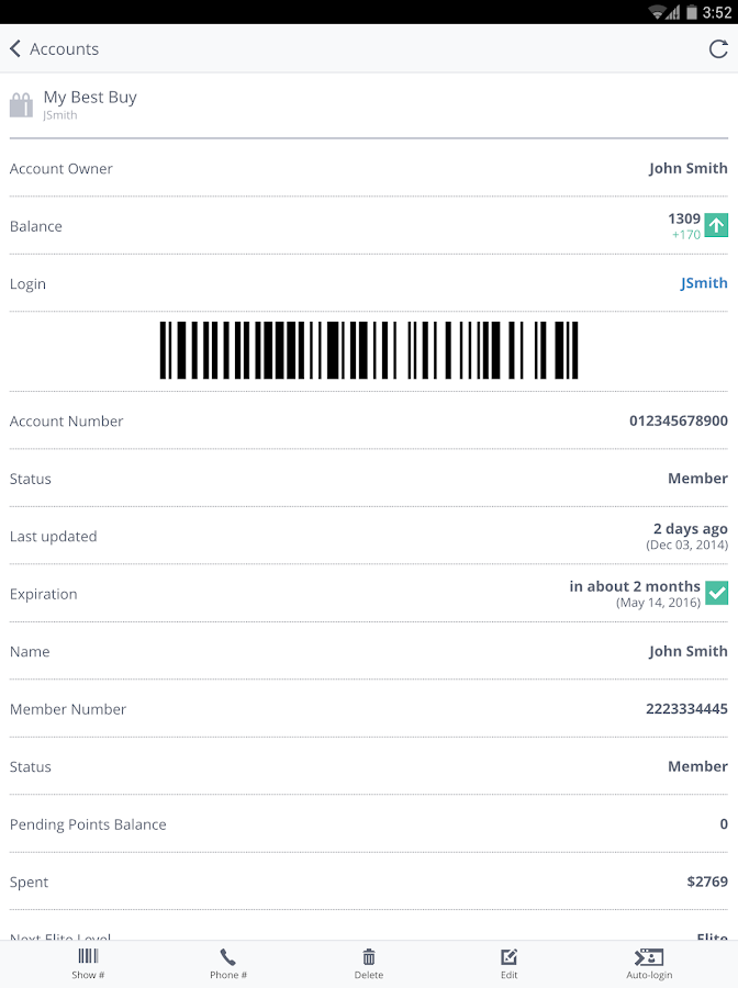 AwardWallet- screenshot