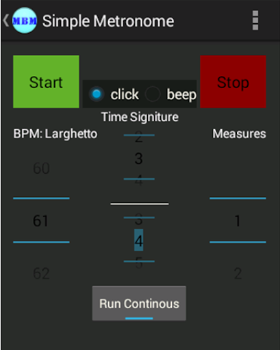 Marching Band Metronome