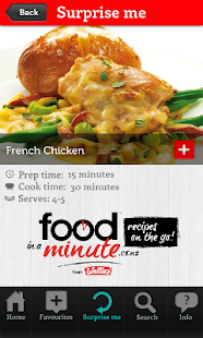 Food in a Minute® - screenshot thumbnail