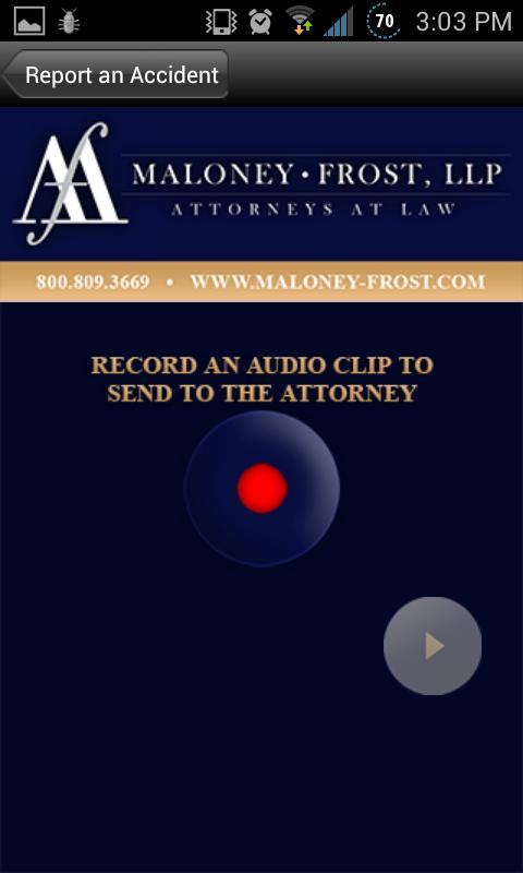 Maloney-Frost, LLP - screenshot