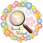 Girly Search Widget