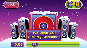 Screenshot of Karaoke for Kids Chrismtas 2