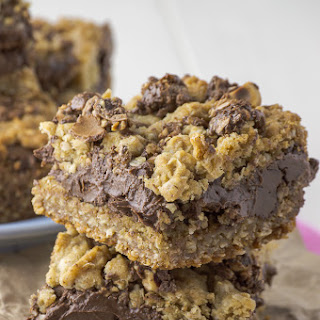 Oatmeal Hazelnut Bars