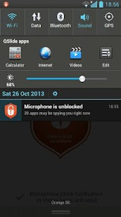 Mic Block -Call speech privacy - screenshot thumbnail