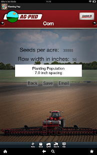 Planting Population Calculator - screenshot thumbnail