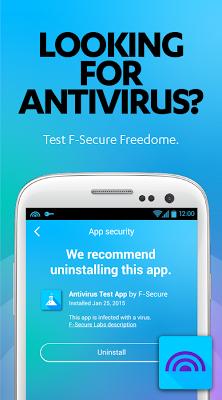F-Secure AV Test - screenshot