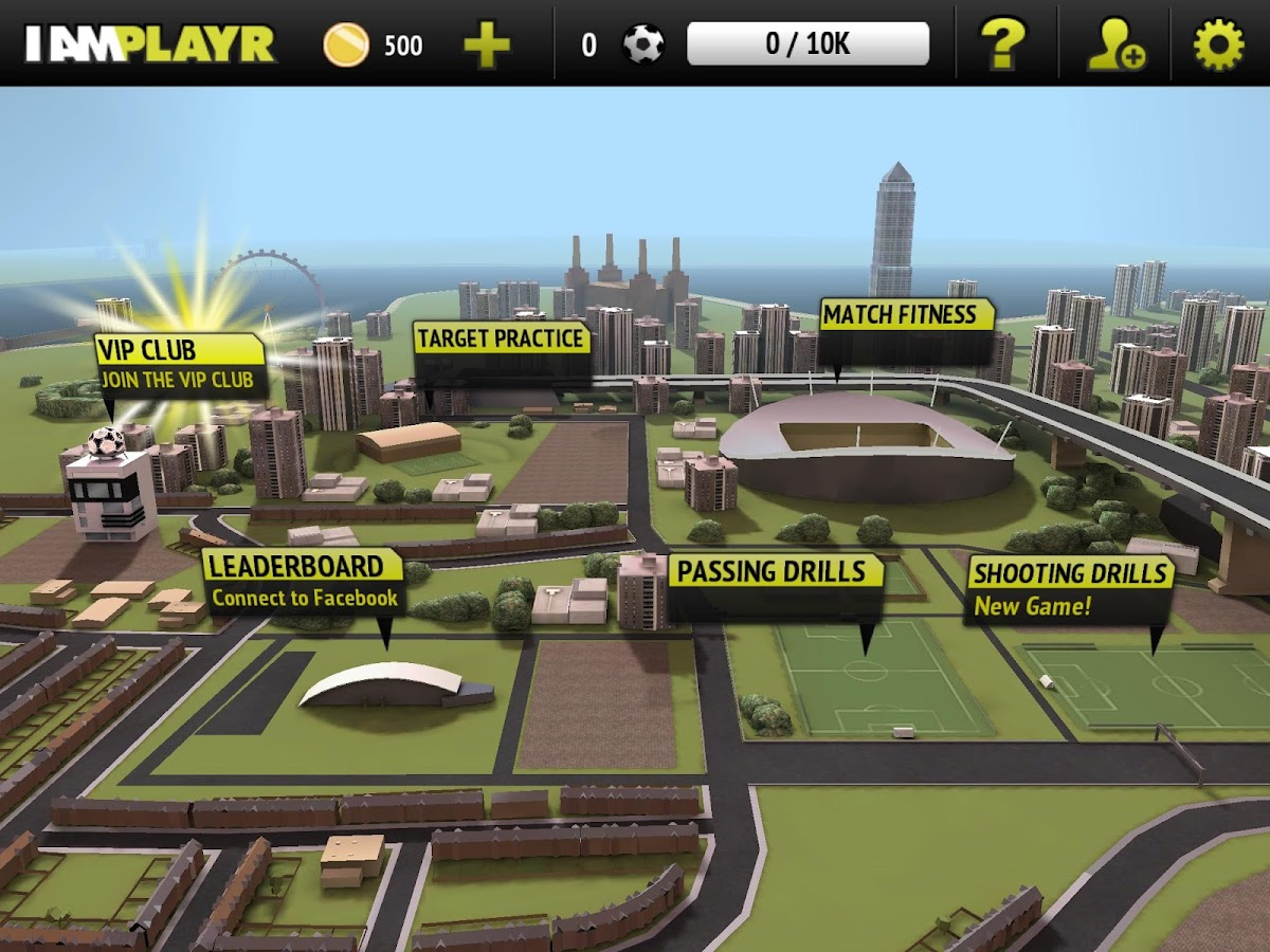 I AM PLAYR - The Football Game- screenshot