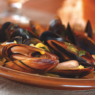 Curried Mussels.