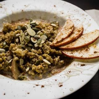 Spiced Quinoa + Millet Porridge.