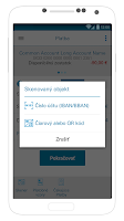 Screenshot of SmartBanking SK