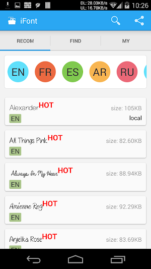 iFont (Expert of Fonts) 5.9.0 (Donate) APK