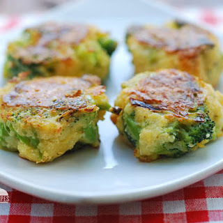 Cheesy Broccoli Bites.