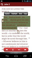 Screenshot of eBible - Bible with Q/A