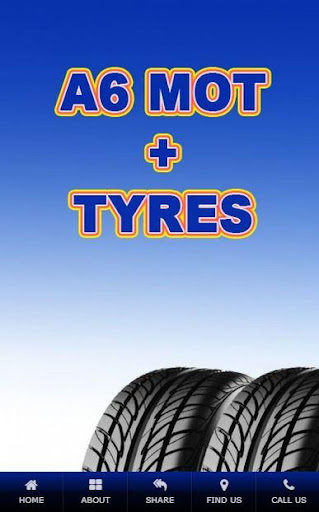 A6 Tyres