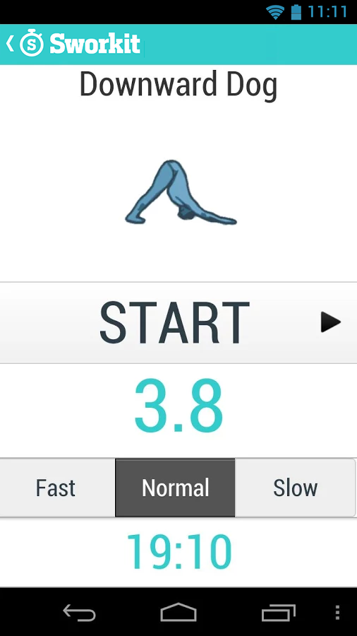 Sworkit - Circuit Training - screenshot