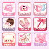 CUKI Theme Sweet Girl icon