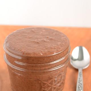 Chocolate Chia Seed Pudding.