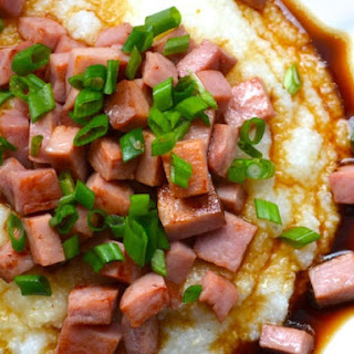 Ham and Grits with Red Eye Gravy