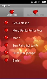 Valentine Songs, SMS and Cards - screenshot thumbnail