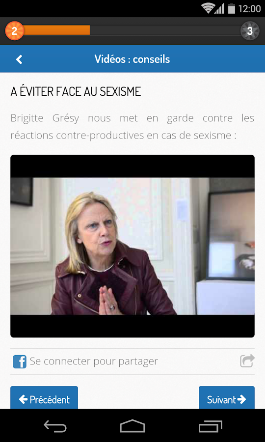 Leadership Pour Elles - screenshot