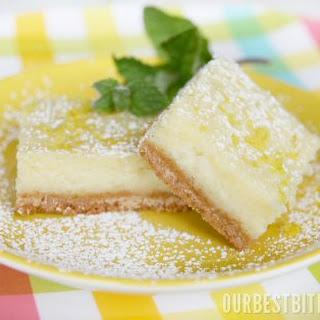 Creamy Lemon {or Lime!} Bars
