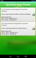 Screenshot of Cricket Live Score App - News