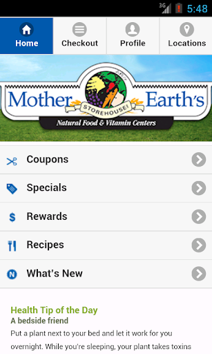 Mother Earth's Storehouse