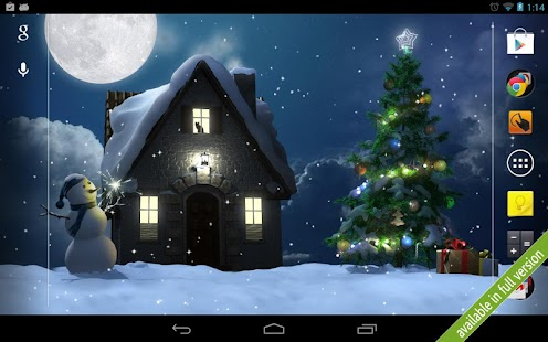 Christmas Moon free- screenshot thumbnail