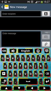 klávesnice Theme - náhled