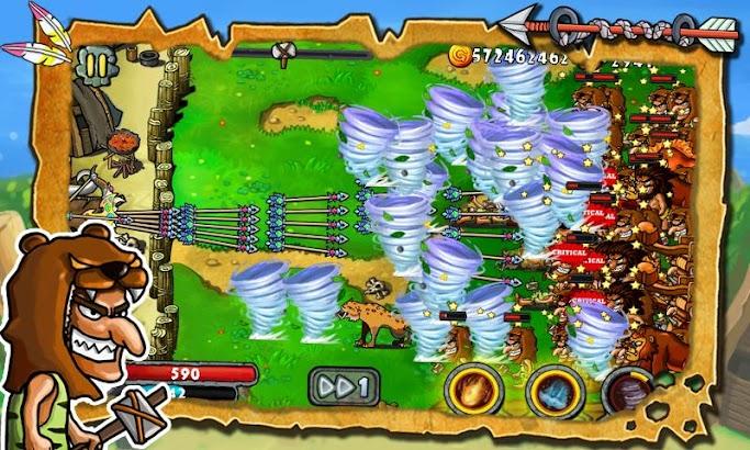 Defender Stone Age screenshot