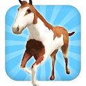 Horse Ride: Wild Trail Run icon