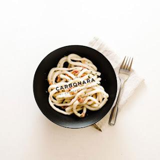 Calamari Carbonara