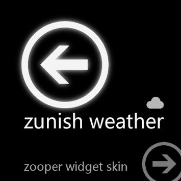 Download Zunish Weather - Zooper Widget APK latest version