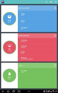 Health Tracker -Sugar BP BMI
