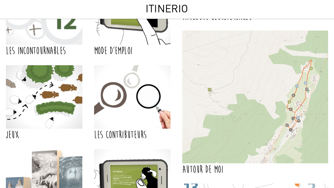 Itinerio- screenshot
