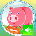 Animals on farm 2 icon
