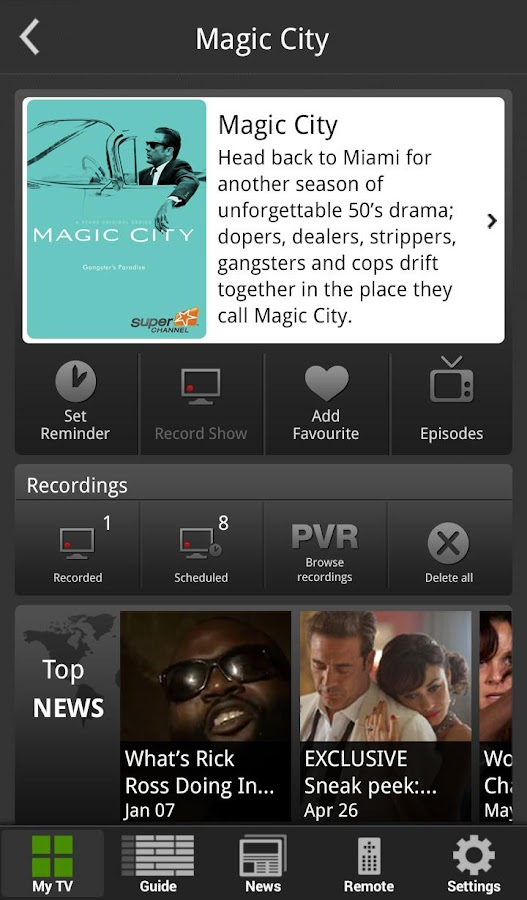 Optik™ Smart Remote - screenshot