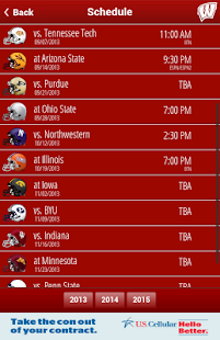 Badger Gameday - screenshot thumbnail