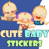 Cute Baby Stickers-Facebook