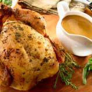Herb-roasted Chicken & Gravy.