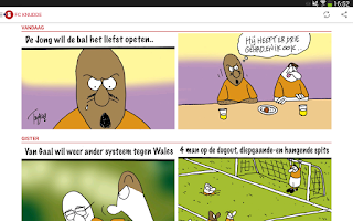 Screenshot of NUsport