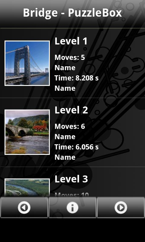 Bridge - PuzzleBox - screenshot