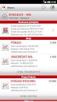 Screenshot of Bank Pekao