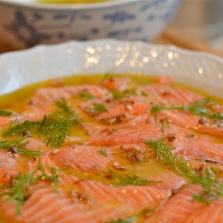 Salmon Carpaccio Recipes.