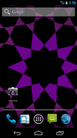 Screenshot of TorqueGeometric Live Wallpaper