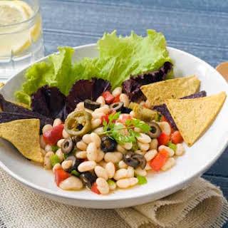 Gluten Free White Bean Chili Salad.