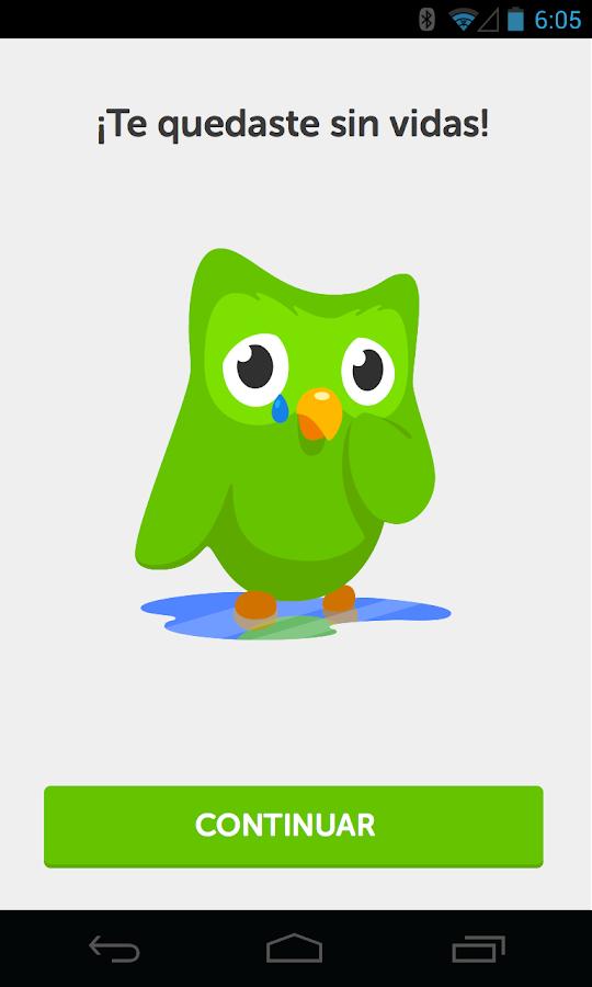 Duolingo - idiomas gratis - screenshot